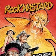 Cómics: CÓMICS. ROCK MASTARD 2. NO HAY DEO GRATIAS PARA ROCK MASTARD - FRANÇOIS BOUCQ/DELAN (CARTONÉ). Lote 47072833