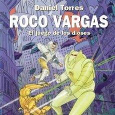 Cómics: CÓMICS. ROCO VARGAS. EL JUEGO DE LOS DIOSES - DANIEL TORRES (CARTONÉ). Lote 209115415