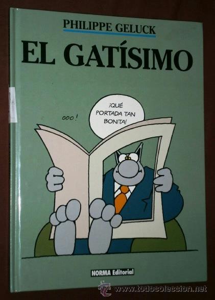 EL GATÍSIMO POR PHILIPPE GELUCK DE ED. NORMA EN BARCELONA 1996 (Tebeos y Comics - Norma - Comic Europeo)