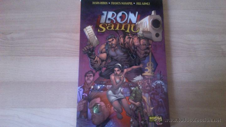 COMIC - IRON SAINT - NORMA EDITORIAL (Tebeos y Comics - Norma - Comic USA)