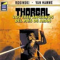 Cómics: CÓMICS. THORGAL 03: LOS TRES ANCIANOS DEL PAÍS DE ARÁN - GRZEGORZ ROSINSKI/JEAN VAN HAMME. Lote 194724580