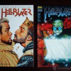 Cómics: HELLBLAZER (JOHN CONSTANTINE) LOTE EL ÚLTIMO HOMBRE Nº 2 Y Nº 3 - NORMA (DC). Lote 47282962