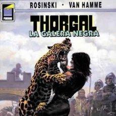 Cómics: CÓMICS. THORGAL 04: LA GALERA NEGRA - GRZEGORZ ROSINSKI/JEAN VAN HAMME. Lote 194724588