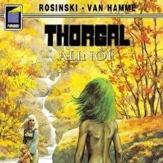 Cómics: CÓMICS. THORGAL 08: ALINOÉ - GRZEGORZ ROSINSKI/JEAN VAN HAMME. Lote 147643036