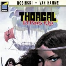 Cómics: CÓMICS. THORGAL 10: EL PAÍS QA - GRZEGORZ ROSINSKI/JEAN VAN HAMME. Lote 85989854