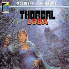 Cómics: CÓMICS. THORGAL 16: LOBA - GRZEGORZ ROSINSKI/JEAN VAN HAMME. Lote 112014526