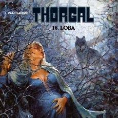 Cómics: CÓMICS. THORGAL 16. LOBA - GRZEGORZ ROSINSKI/JEAN VAN HAMME (CARTONÉ). Lote 47368264