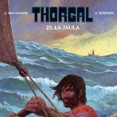 Cómics: CÓMICS. THORGAL 23. LA JAULA - GRZEGORZ ROSINSKI/JEAN VAN HAMME (CARTONÉ). Lote 282925913