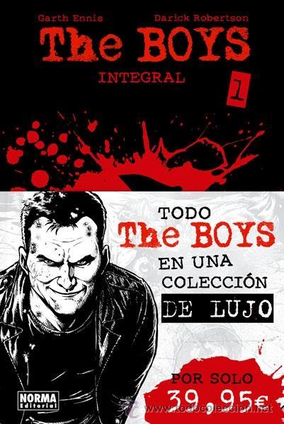 CÓMICS. THE BOYS INTEGRAL 01 - GARTH ENNIS/DARICK ROBERTSON (CARTONÉ) (Tebeos y Comics - Norma - Comic USA)