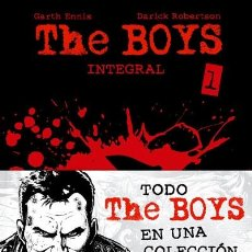 Cómics: CÓMICS. THE BOYS INTEGRAL 01 - GARTH ENNIS/DARICK ROBERTSON (CARTONÉ). Lote 144404156