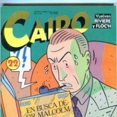 Cómics: CAIRO Nº 22 AÑO 1984 BUEN ESTADO. Lote 288228688