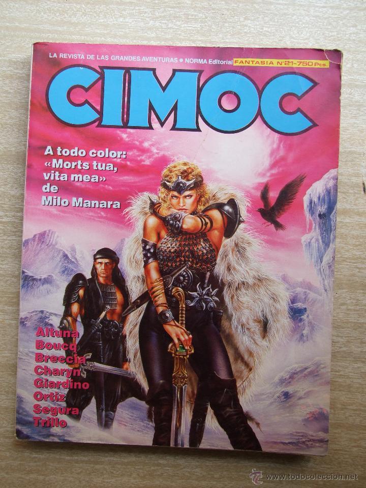 CIMOC FANTASIA Nº 21 - NORMA - RETAPADO INCLUYE 71 72 Y 73 (Tebeos y Comics - Norma - Cimoc)