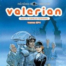 Cómics: CÓMICS. VALERIAN, AGENTE ESPACIOTEMPORAL 4 INTEGRAL - JEAN-CLAUDE MÉZIÈRES/PIERRE CHRISTIN (CARTONÉ). Lote 100653567