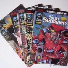 Cómics: STAR SLAMMERS COLECCIÓN COMPLETA DE 5 NÚMEROS . WALTER SIMONSON. Lote 47738479