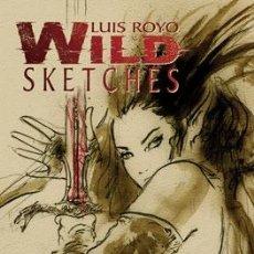 Cómics: CÓMICS. WILD SKETCHES 1 - LUIS ROYO. Lote 224667332
