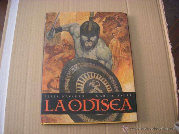 LA ODISEA, TAPA DURA, EDITRIAL NORMA, NUEVO (Tebeos y Comics - Norma - Comic Europeo)