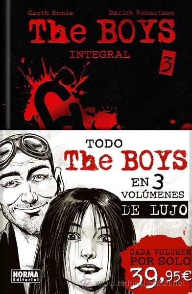 CÓMICS. THE BOYS INTEGRAL 3 - GARTH ENNIS/DARICK ROBERTSON (CARTONÉ) (Tebeos y Comics - Norma - Comic USA)
