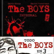 Cómics: CÓMICS. THE BOYS INTEGRAL 3 - GARTH ENNIS/DARICK ROBERTSON (CARTONÉ). Lote 144404184
