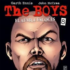 Cómics: CÓMICS. THE BOYS 08. EL AFABLE ESCOCÉS - GARTH ENNIS/JOHN MCCREA. Lote 182480542