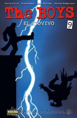 CÓMICS. THE BOYS 09. EL TIOVIVO - GARTH ENNIS/RUSSELL BRAUN/JOHN MCCREA/DARICK ROBERTSON (Tebeos y Comics - Norma - Comic USA)