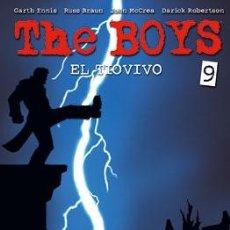 Cómics: CÓMICS. THE BOYS 09. EL TIOVIVO - GARTH ENNIS/RUSSELL BRAUN/JOHN MCCREA/DARICK ROBERTSON. Lote 222646332
