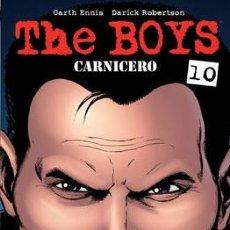 Cómics: CÓMICS. THE BOYS 10. CARNICERO - GARTH ENNIS/DARICK ROBERTSON. Lote 182480610