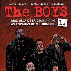 Cómics: CÓMICS. THE BOYS 11. MAS ALLA DE LA COLINA CON LAS ESPADAS DE MIL HOMBRES - GARTH ENNIS/DARICK ROBER. Lote 182480632