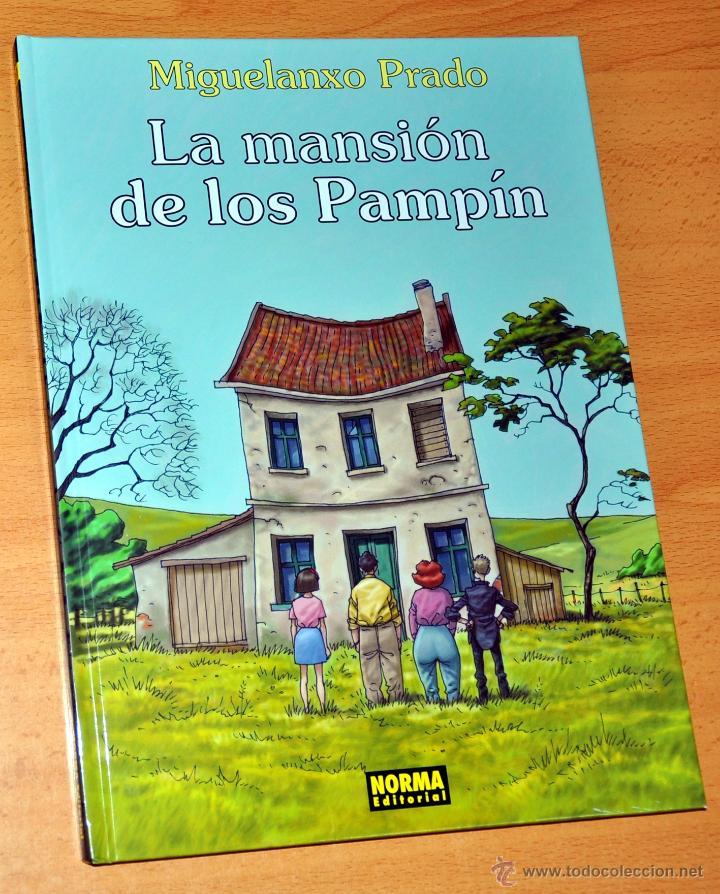 LA MANSIÓN DE LOS PAMPÍN - DE MIGUELANXO PRADO - NORMA EDITORIAL - 1ª EDICIÓN - ENERO 2005 - NUEVO (Tebeos y Comics - Norma - Otros)
