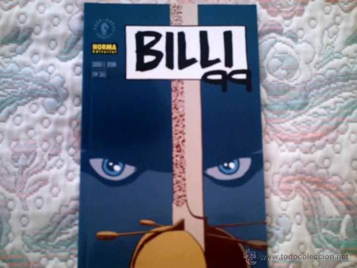 BILLI 99, DE SARAH BYAM Y TIM SALE (Tebeos y Comics - Norma - Comic USA)