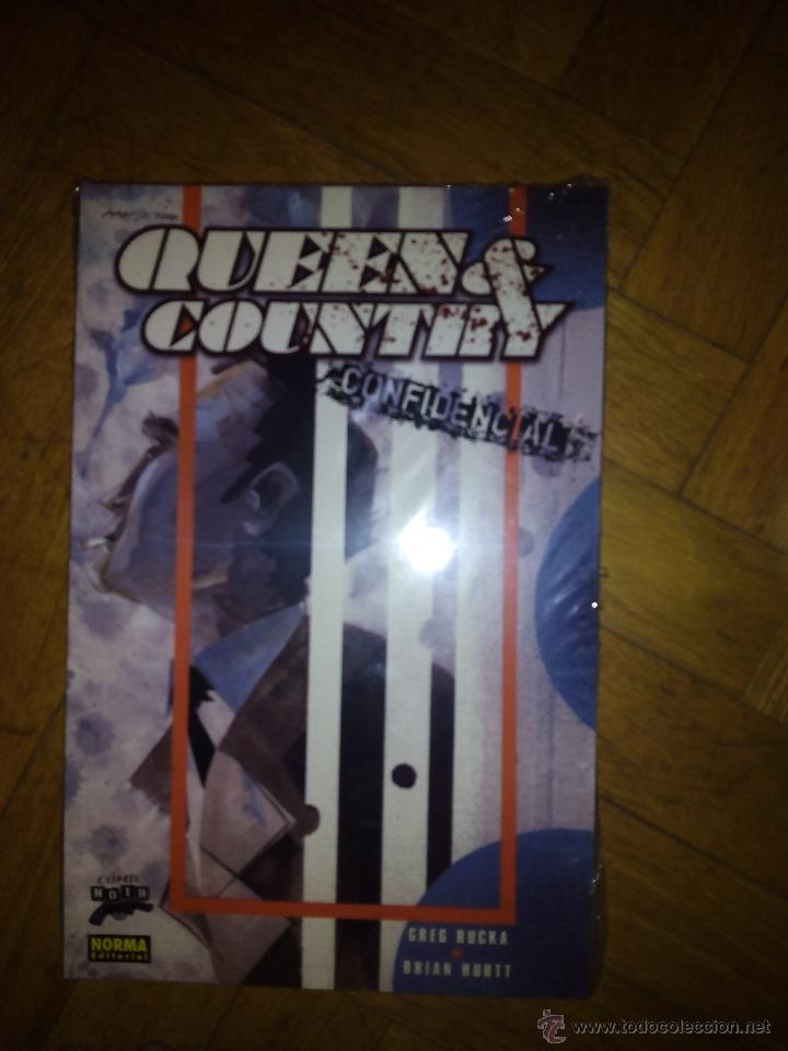 QUEEN COUNTRY CONFIDENCIAL GRERG RUCKA NORMA 3 TOMOS COMPLETA (Tebeos y Comics - Norma - Otros)