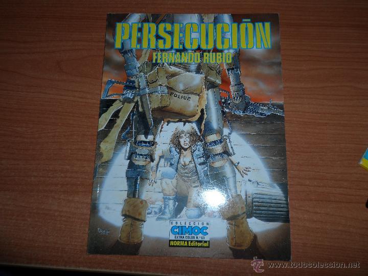 CIMOC EXTRA COLOR Nº 63 PERSECUCION POR FERNANDO RUBIO (Tebeos y Comics - Norma - Cimoc)