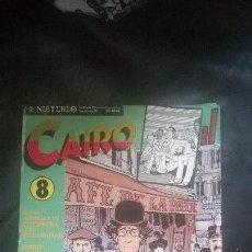 Cómics: LOTE DE 3 REVISTAS CAIRO NOS. 2,3Y8.. Lote 141679893