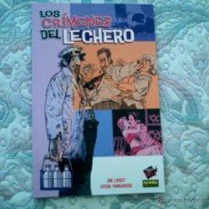 Cómics: LOS CRIMENES DEL LECHERO, DE JOE CASEY Y STEVE PARKHOUSE (COL. MADE IN HELL). Lote 48695358