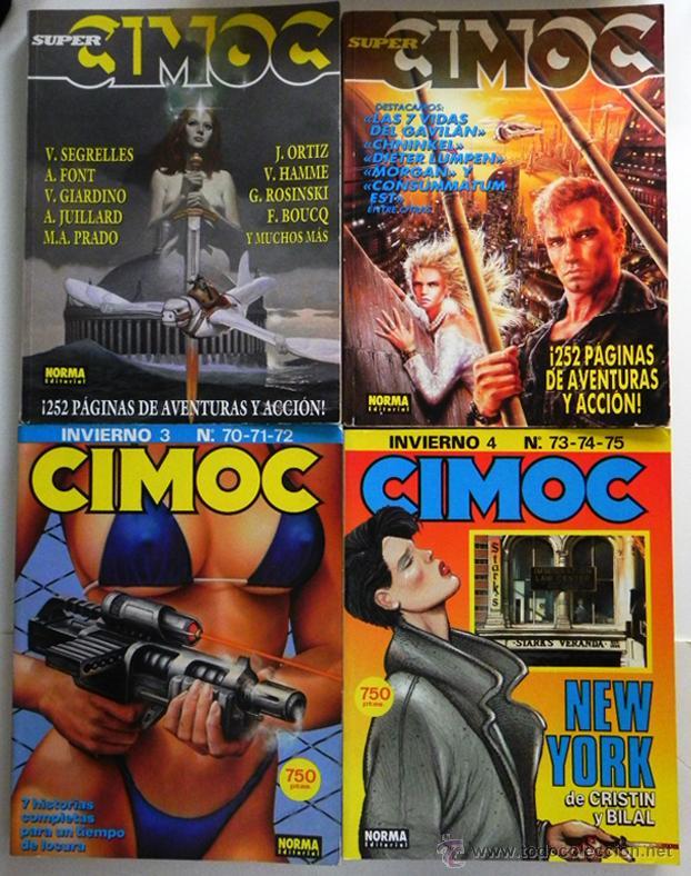 GRAN LOTE DE CIMOC 16 COMICS RETAPADO CÓMIC PARA ADULTOS 70 71 72 73 74 75 95 96 97 98 99 100 LOTAZO (Tebeos y Comics - Norma - Cimoc)