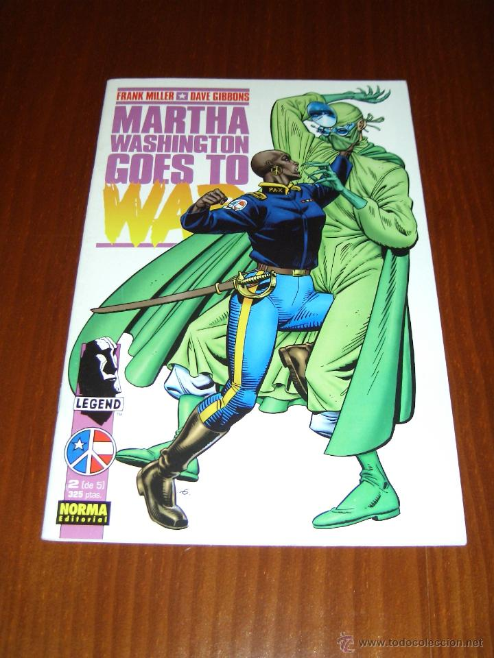 MARTHA WASHINGTON GOES TO WAR - Nº 2 - FRANK MILLER - DAVE GIBBONS - NORMA (Tebeos y Comics - Norma - Comic USA)
