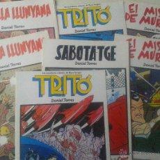 Cómics: LOTE 7 COMICS ELS ALBUMS DEL CAIRO NORMA EDITORIAL AÑO 1990. Lote 48889297