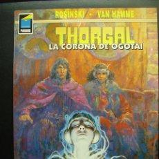 Cómics: THORGAL, LA CORONA DE OGOTAI. Lote 48944534