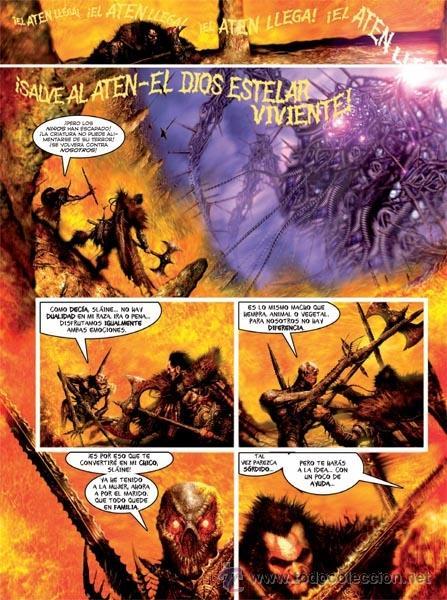 Cómics: Cómics. SLÁINE: LOS LIBROS DE LAS INVASIONES. INTEGRAL - Pat Mills/Clint Langley (Cartoné) - Foto 3 - 110395432