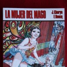 Cómics: LA MUJER DEL MAGO. J. CHARYN Y F. BOUCQ. CIMOC EXTRA COLOR Nº 33-34. IMPECABLE. Lote 49017658