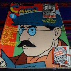 Cómics: CAIRO Nº 1. NORMA 1981. REGALO Nº 71.. Lote 49025393