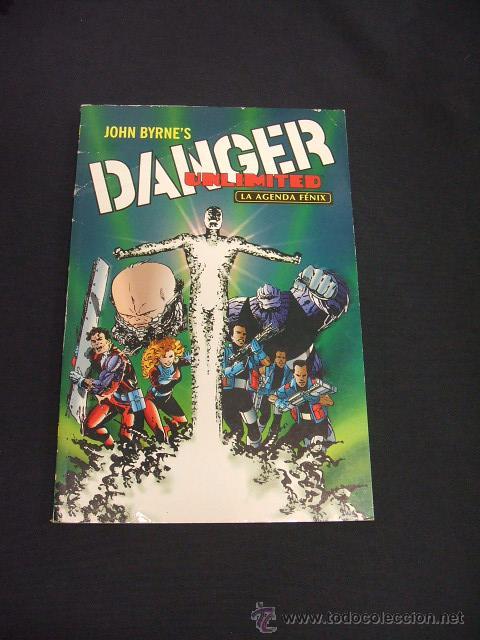 DANGER UNLIMITED - LA AGENDA FENIX - NORMA - (Tebeos y Comics - Norma - Comic USA)