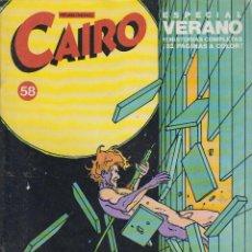 Cómics: CAIRO Nº 58 - EDITA : NORMA. Lote 219866423