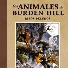 Fumetti: CÓMICS. LOS ANIMALES DE BURDEN HILL: RITOS PELUDOS - EVAN DORKIN/JILL THOMPSON (CARTONÉ). Lote 49364617