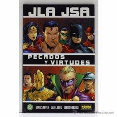 Comics: JLA / JSA: PECADOS Y VIRTUDES. Lote 49399888
