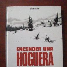 Cómics: ENCERDER UNA HOGUERA NORMA. Lote 49583740