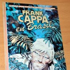 Cómics: TAPA DURA - CIMOC PRESENTA: FRANK CAPPA EN BRASIL - DE MANFRED SOMMER - EDITORIAL NORMA - AÑO 1983. Lote 49640915