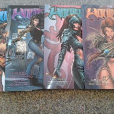 Cómics: WITCHBLADE -- LOTE 4 PRIMEROS TOMOS -- RON MARZ & MICHAEL CHOI -- NORMA EDITORIAL --. Lote 49736054