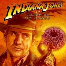 Cómics: CÓMICS. INDIANA JONES Y LA TUMBA DE LOS DIOSES - ROB WILLIAMS/STEVE SCOTT/BART SEARS. Lote 49752621