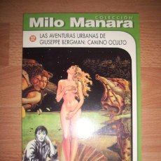 Cómics: MANARA, MILO. LAS AVENTURAS URBANAS DE GIUSEPPE BERGMAN : CAMINO OCULTO. Lote 49782810