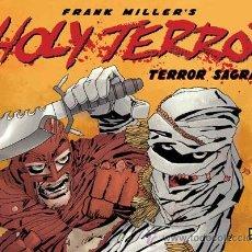 Cómics: CÓMICS. HOLY TERROR (TERROR SAGRADO) - FRANK MILLER (CARTONÉ). Lote 277654553